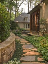 Stunning Front Yard Path Walkway Design Ideas 22