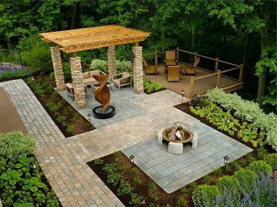 Amazing Backyard Seating Design Ideas 02