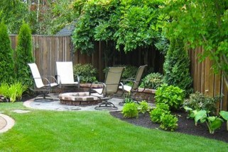 Amazing Backyard Seating Design Ideas 05