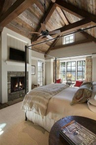 Awesome Farmhouse Style Master Bedroom Ideas 18