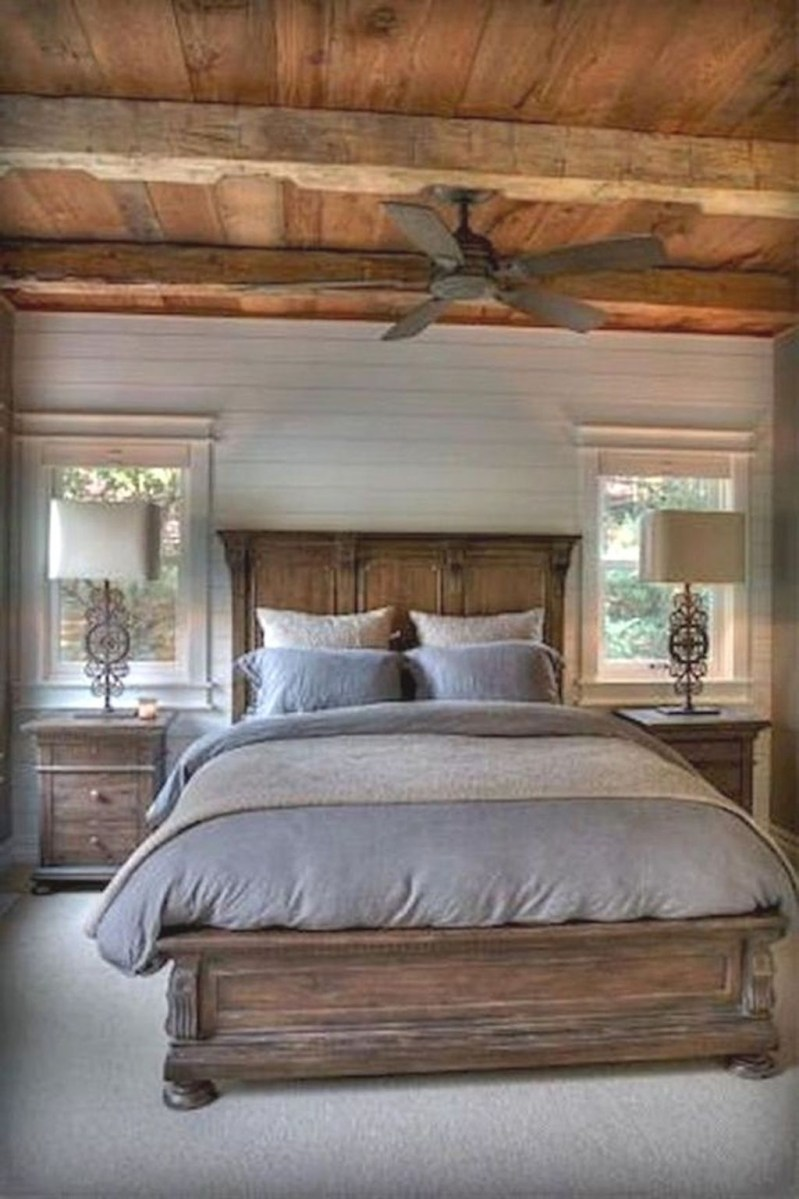 Awesome Farmhouse Style Master Bedroom Ideas 46