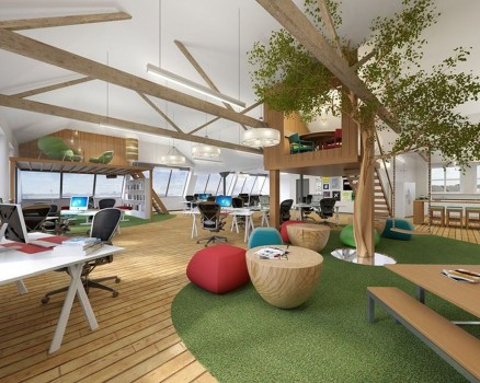 Beautiful Contemporary Office Design Ideas 16
