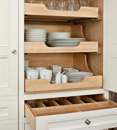 Best Ways To Organize Kitchen Cabinet Efficiently 20