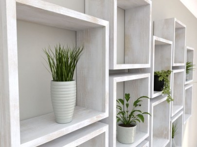 Cheap Decorative Box Shelves Ideas 03