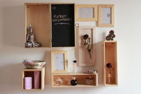 Cheap Decorative Box Shelves Ideas 05