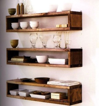 Cheap Decorative Box Shelves Ideas 07