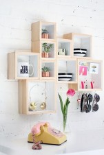 Cheap Decorative Box Shelves Ideas 12