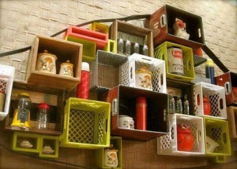 Cheap Decorative Box Shelves Ideas 17