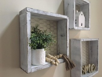 Cheap Decorative Box Shelves Ideas 22