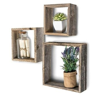 Cheap Decorative Box Shelves Ideas 30