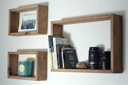 Cheap Decorative Box Shelves Ideas 34