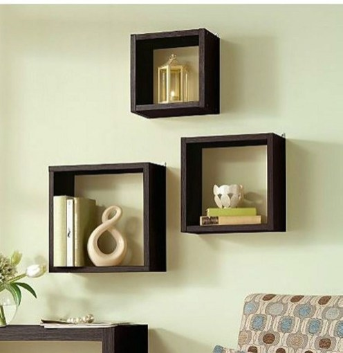 Cheap Decorative Box Shelves Ideas 45