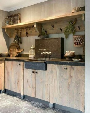 Cool Rustic Farmhouse Kitchen Ideas 07