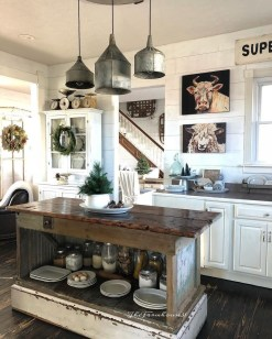 Cool Rustic Farmhouse Kitchen Ideas 20