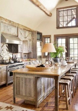 Cool Rustic Farmhouse Kitchen Ideas 49