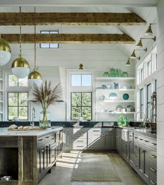Cool Rustic Farmhouse Kitchen Ideas 51