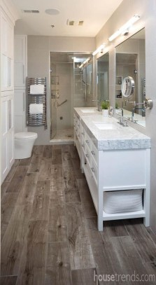 Fancy Modern Master Bathroom Ideas 35