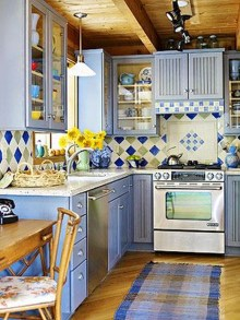 Incredible Colorful Kitchen Ideas 28