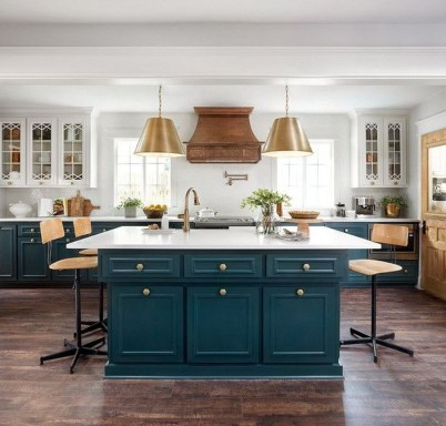 Incredible Colorful Kitchen Ideas 34