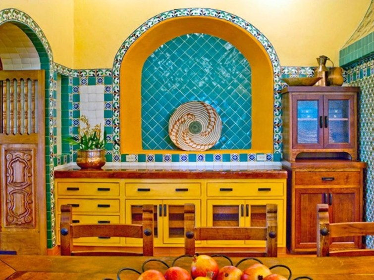 Incredible Colorful Kitchen Ideas 49