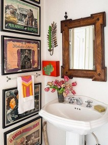 Lovely Eclectic Bathroom Ideas 30