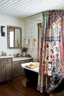 Lovely Eclectic Bathroom Ideas 35