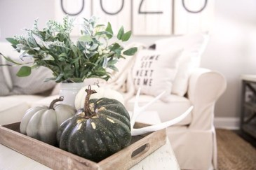 Modern Diy Fall Centerpiece Ideas For Your Home Decor 02