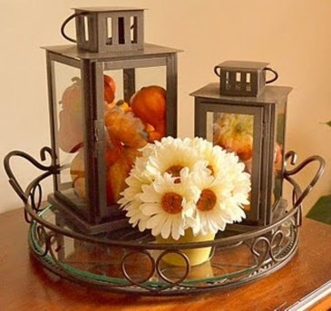 Modern Diy Fall Centerpiece Ideas For Your Home Decor 03