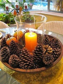 Modern Diy Fall Centerpiece Ideas For Your Home Decor 33