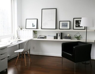 Modern Ikea Office Design Ideas 45