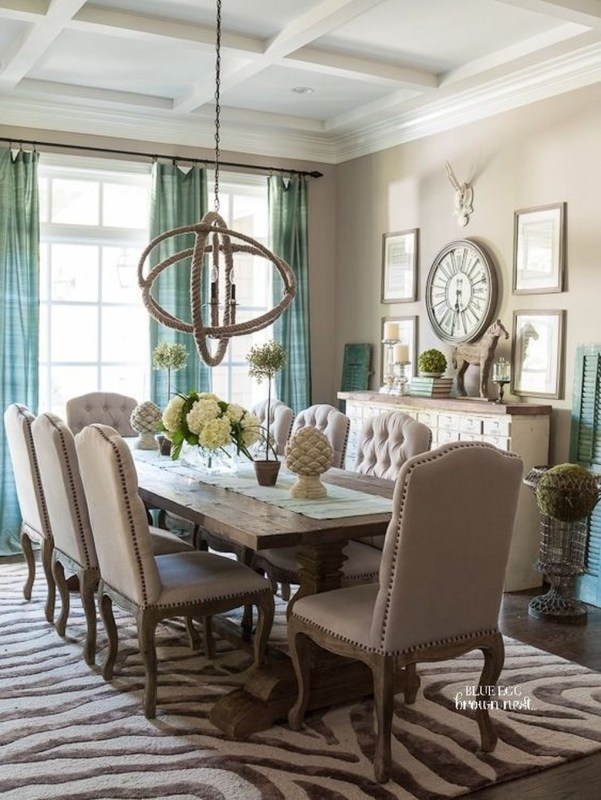 Stylish Beautiful Dining Room Design Ideas 14