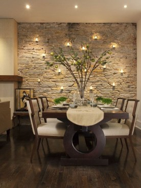 Stylish Beautiful Dining Room Design Ideas 24