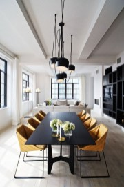 Stylish Beautiful Dining Room Design Ideas 36