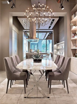 Stylish Beautiful Dining Room Design Ideas 38