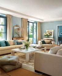 The Best Beige Living Room Design Ideas 37