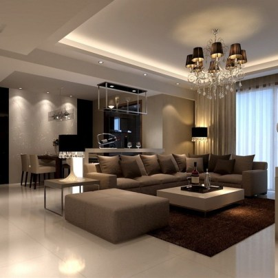 The Best Beige Living Room Design Ideas 41