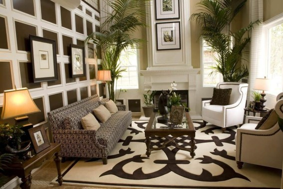 The Best Beige Living Room Design Ideas 44