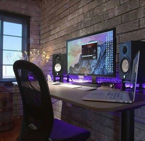 Unique Gaming Desk Computer Setup Ideas 26
