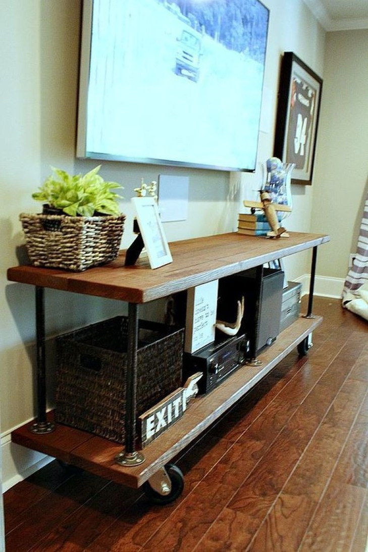 Cozy Minimalist Farmhouse Tv Stand Ideas 06