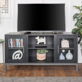 Cozy Minimalist Farmhouse Tv Stand Ideas 17