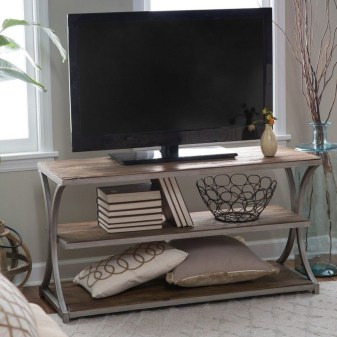 Cozy Minimalist Farmhouse Tv Stand Ideas 26