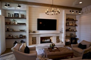 Cozy Minimalist Farmhouse Tv Stand Ideas 28
