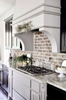 Cute Farmhouse Kitchen Backsplash Ideas 13