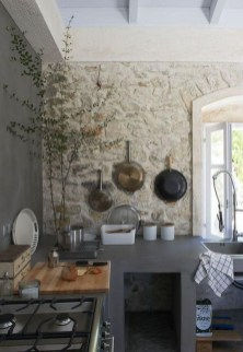 Cute Farmhouse Kitchen Backsplash Ideas 32