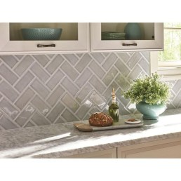Cute Farmhouse Kitchen Backsplash Ideas 53