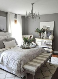 Inspiring Modern Farmhouse Bedroom Decor Ideas 04