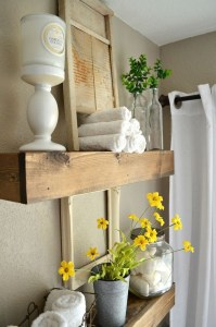 Lovely Farmhouse Bathroom Accessories Ideas 20