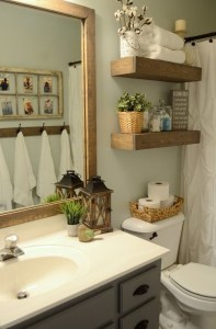 Lovely Farmhouse Bathroom Accessories Ideas 22