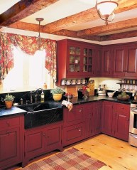 Magnificient Rustic Country Kitchen Ideas To Renew Your Ordinary Kitchen 11
