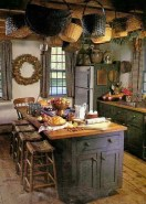Magnificient Rustic Country Kitchen Ideas To Renew Your Ordinary Kitchen 16